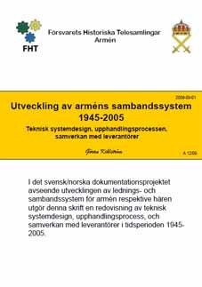 Utvecklingen av arméns sambandssystem