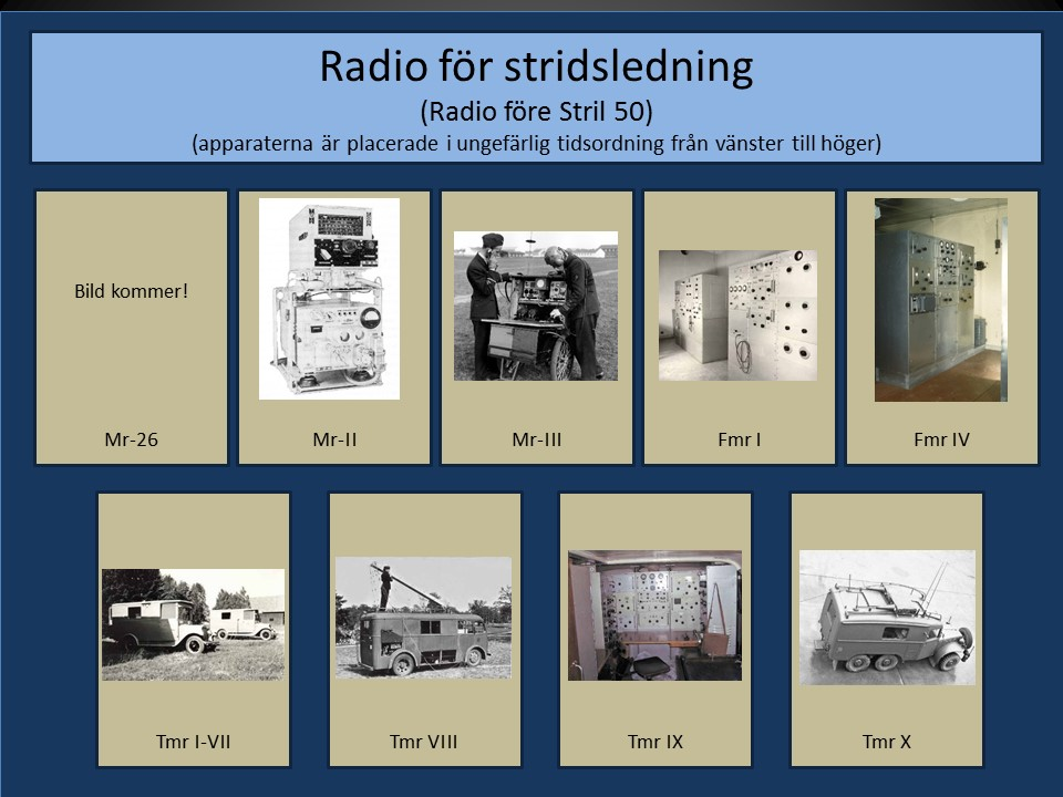 Radio före Stril 50