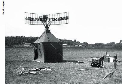 PS-41 - Transportabel spaningsradar